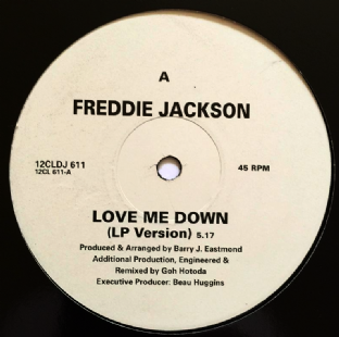"Freddie Jackson - Love Me Down (12"") (Promo) (VG+/NM)"